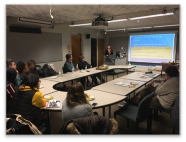 Brown Bag:  A leisurely discourse between IDE students & faculty